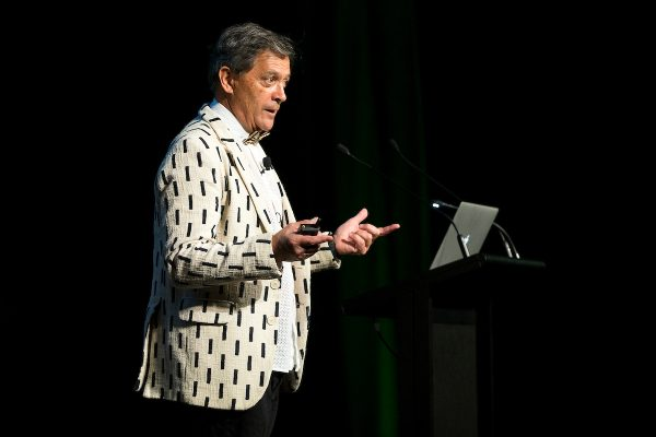 Ian Taylor, guest speaker.